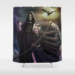 Grim Reapers Shower Curtain