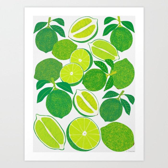 Lime Harvest Kunstdrucke