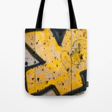 writing on the wall Tote Bag