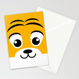 Baby Tiger. Kids & Puppies Stationery Cards