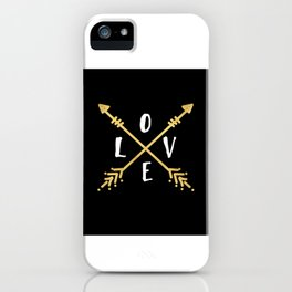 BOHO LOVE - Arrows and Adventure iPhone Case