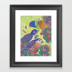 Birds2 Framed Art Print
