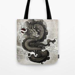Oriental Dragon Tote Bag