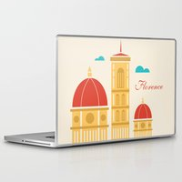 florence Laptop & iPad Skins featuring Florence by Marina Design