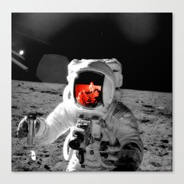 Staring at the Brilliant Truth Canvas Print