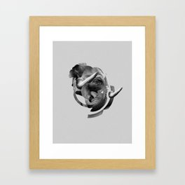 / skin / elephant Framed Art Print