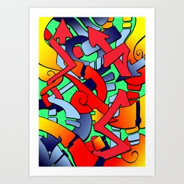 Tronstyler 1 Art Print