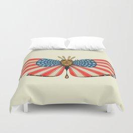 patriot moth (ORIGINAL SOLD). Duvet Cover