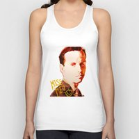 moriarty Tank Tops featuring Miss me? - Jim Moriarty by Pash Arts