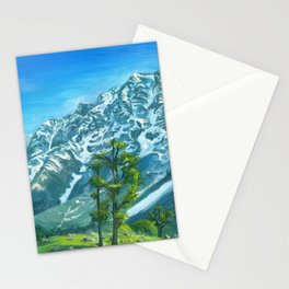 Himalaya mountains Stationery Cards