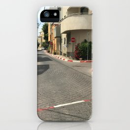 Tel Aviv photo - Kerem Hateimanim - Israel iPhone Case