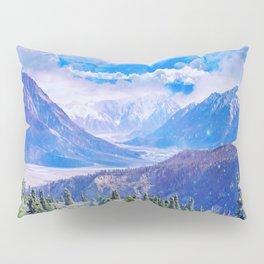 Neverland mountains Pillow Sham