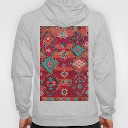 18 - Traditional Colored Epic Anthique Bohemian Moroccan Artwork Hoody