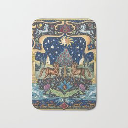 Dream World by Nettwork2Design -  Nettie Heron-Middleton Bath Mat