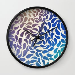 Petal Burst #30 Wall Clock