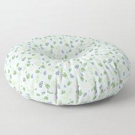 Cheerful Leaf Pattern Floor Pillow