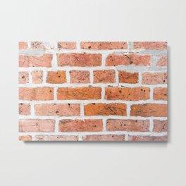 Brick Texture II Metal Print