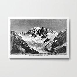 Existing Alpine Glacier Metal Print