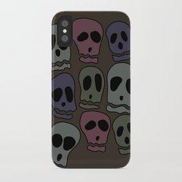 Skulls-2 iPhone Case