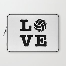 I Love Volleyball Laptop Sleeve