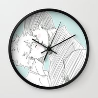 haikyuu Wall Clocks featuring Kagehina Haikyuu!! by Pruoviare