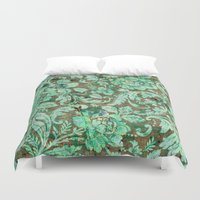 flower pattern Duvet Covers featuring Flower pattern by nicky2342
