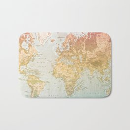 Pastel World Bath Mat
