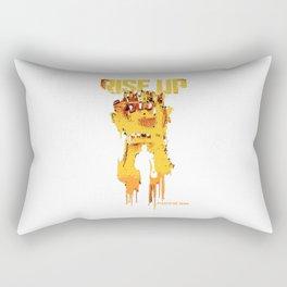 pacific rim riseup Rectangular Pillow