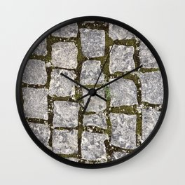 Stone Path Texture Wall Clock
