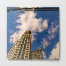 cloudy day N.Y Metal Print