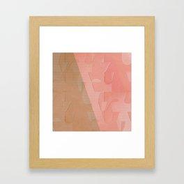 Pattern 2017 003 Framed Art Print