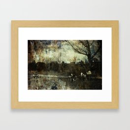 Hunting Kangaroo's Framed Art Print