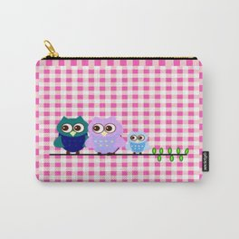 Pretty Owls Carry-All Pouch