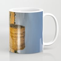 farm Mugs featuring The Farm by David Pyatt