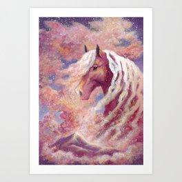 CloudSurfer Art Print