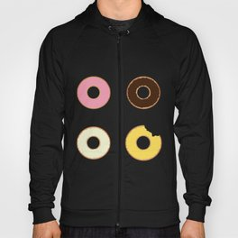 Four Doughnuts (Bitten version) Hoody