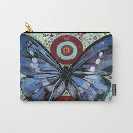 """""""Big Blue Butterfly"""" copyright Ray Stephenson 2013 Carry-All Pouch"""