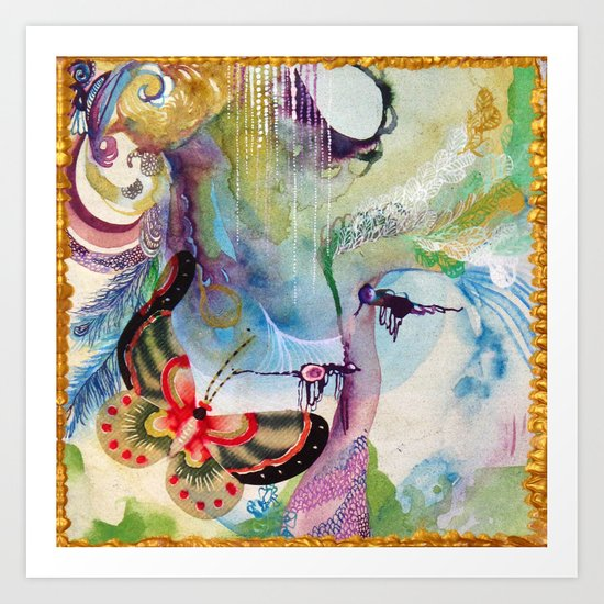 Divergence Art Print