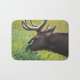 Elk like flowers too Bath Mat