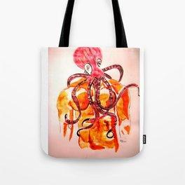 An octopus has three hearts Tote Bag