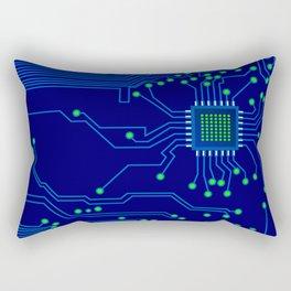 Electronics board Rectangular Pillow