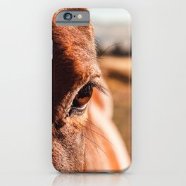 Straight from the Horse iPhone Case