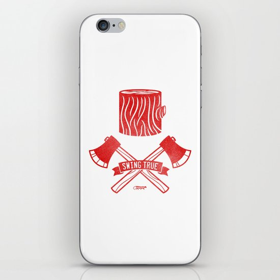 Swing True iPhone & iPod Skin