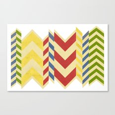 Myriad Chevrons Canvas Print