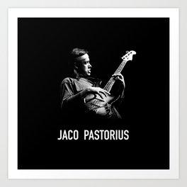 Jaco Pastorius Art Print