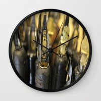 write Wall Clocks featuring Write right by Lisa Beynon