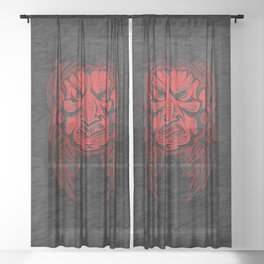 Kahui-tipua Sheer Curtain