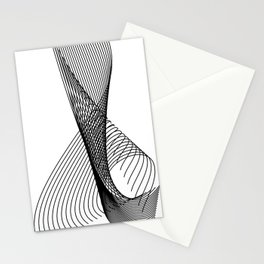 """Script Collection"" - Minimal Letter X Print Stationery Cards"