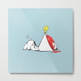 sno-cone of shame Metal Print