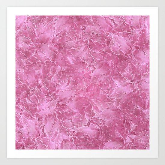 Frozen Leaves 22 Art Print